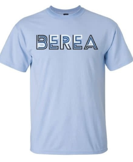 Light Blue Berea T- shirt-1