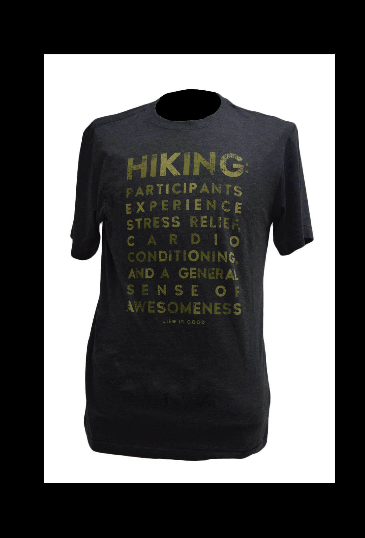 Hiking  T-shirt  Life Is Good-2