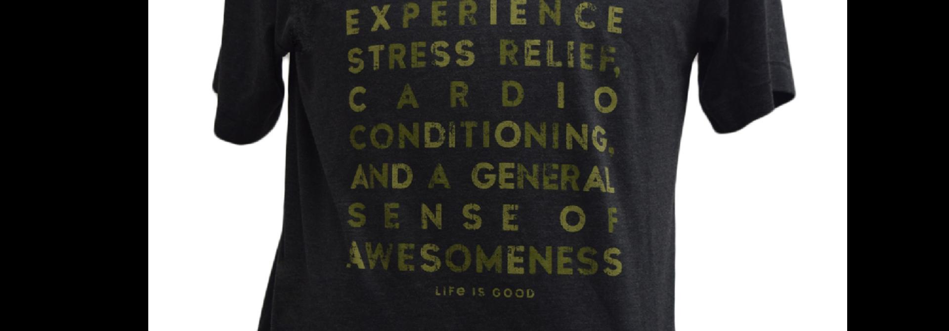 Hiking  T-shirt  Life Is Good