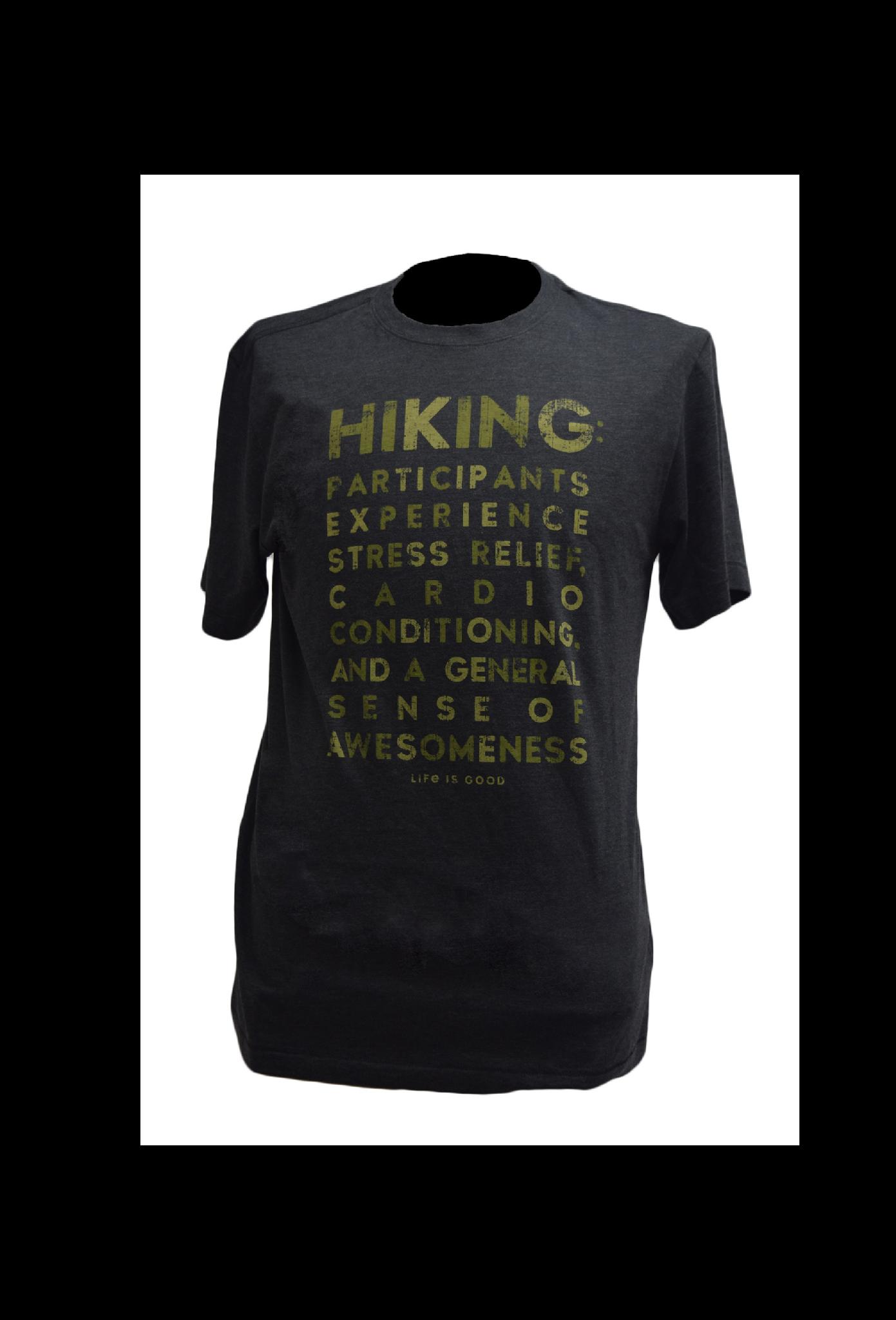Hiking  T-shirt  Life Is Good-1