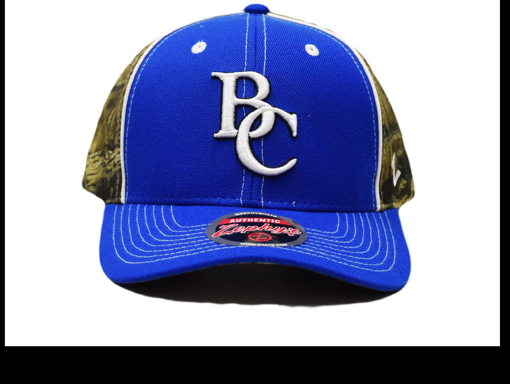 BC Camouflage Ball Cap-3