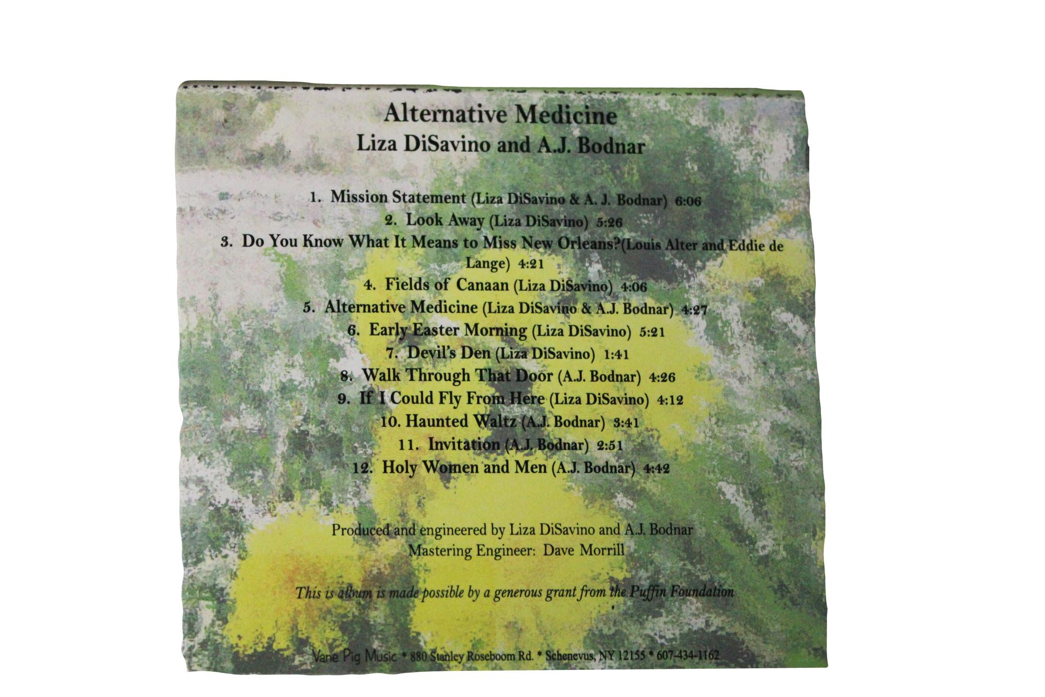 Alternative Medicine by DiSavino, Elizabeth & Bodnar, A.J.-2