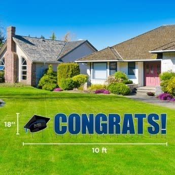 Congrats! Yard Sign*-1