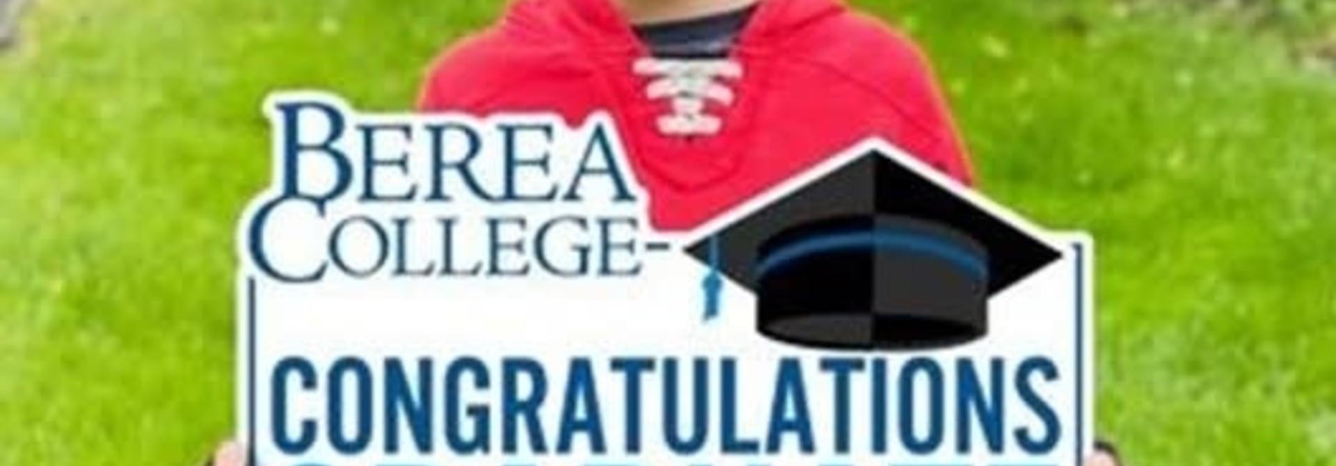 Mountaineers Congratulations Graduate Yard Sign*