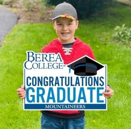 Mountaineers Congratulations Graduate Yard Sign*-1