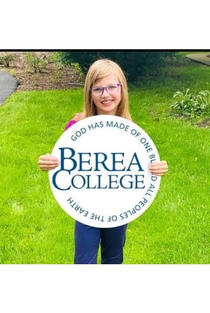 Berea College Circle Logo Yard Sign*