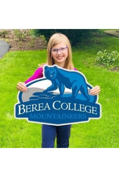 Berea College Mountaineers Yard Sign*