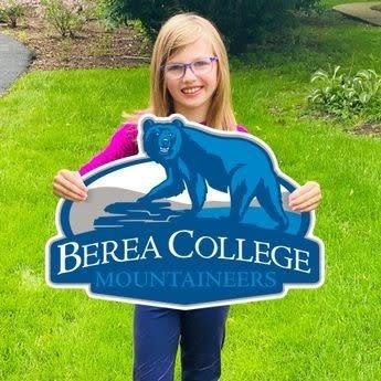 Berea College Mountaineers Yard Sign*-1