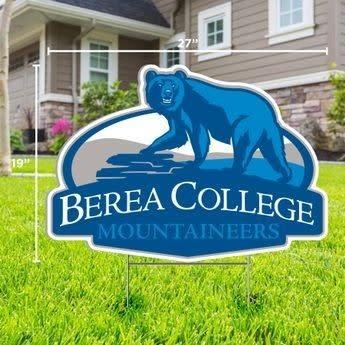 Berea College Mountaineers Yard Sign*-2