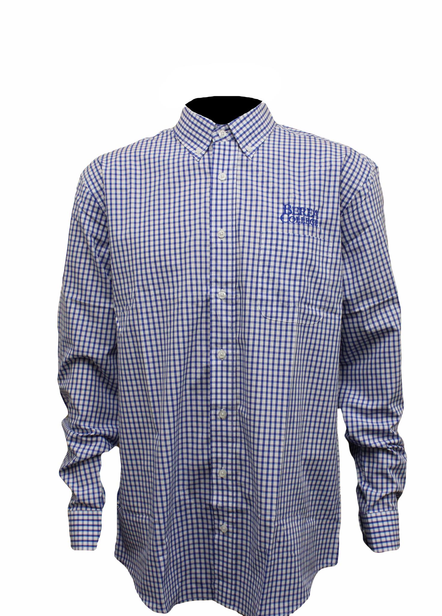 Poplin Gingham Shirt*-2