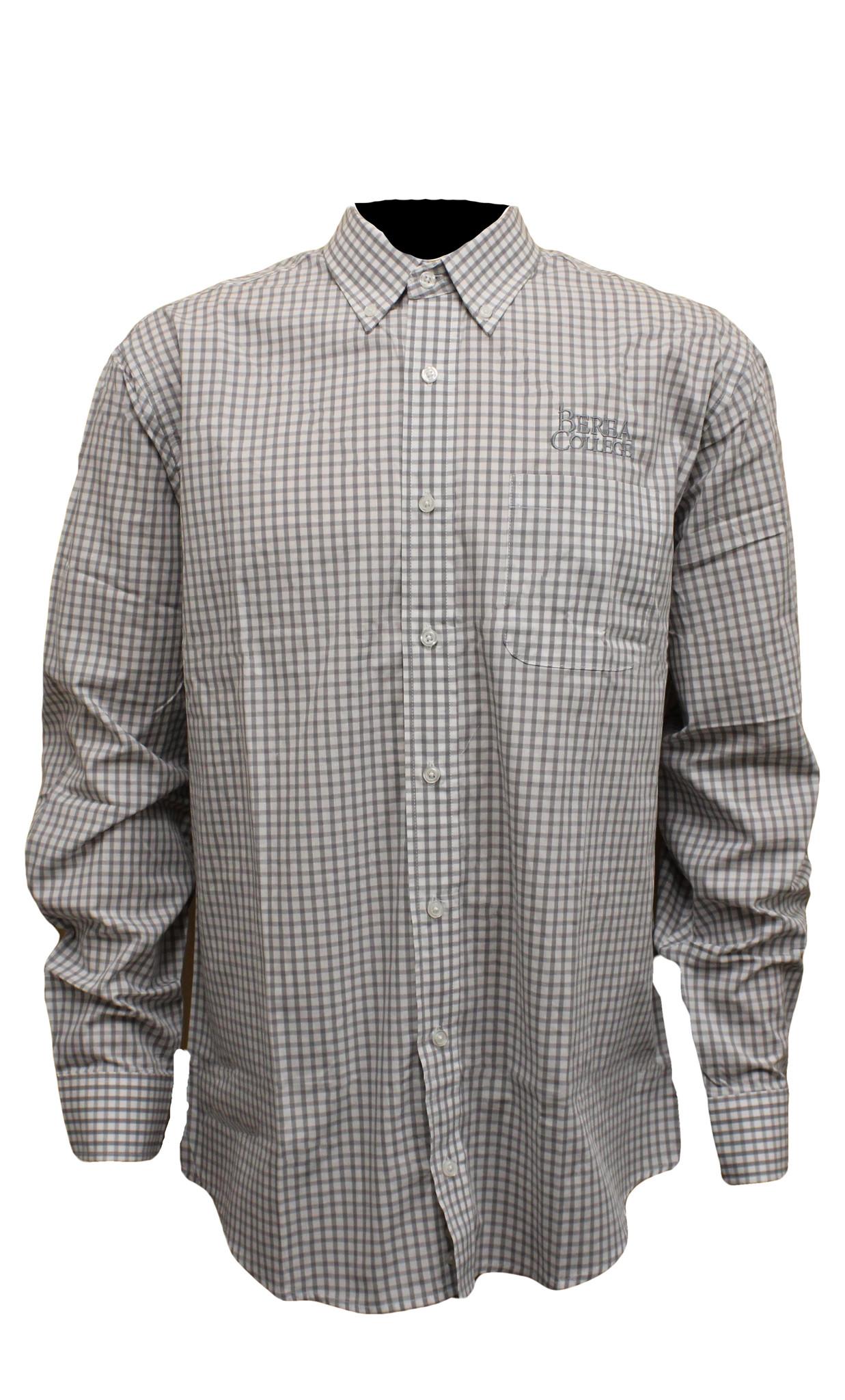 Poplin Gingham Shirt*-1
