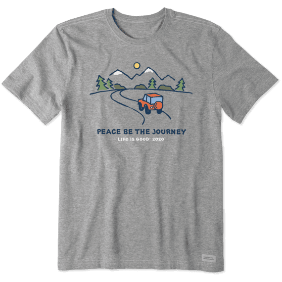 Peace Be The Journey Crusher T-Shirt-2