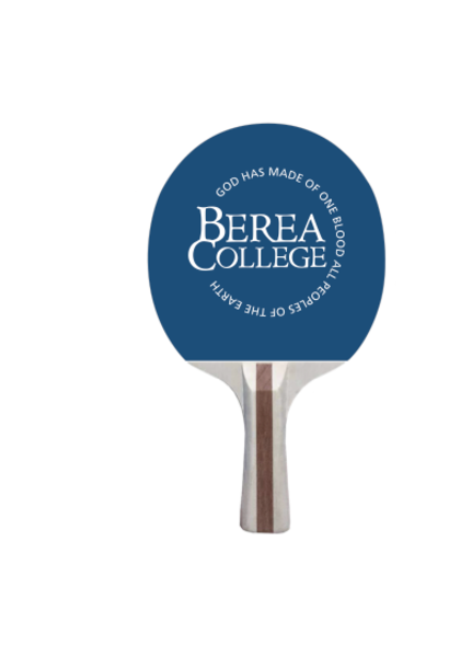 Ping Pong Paddle with Berea College logo*