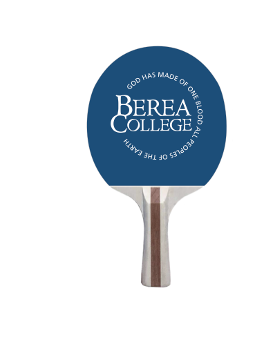 Ping Pong Paddle with Berea College logo*-1