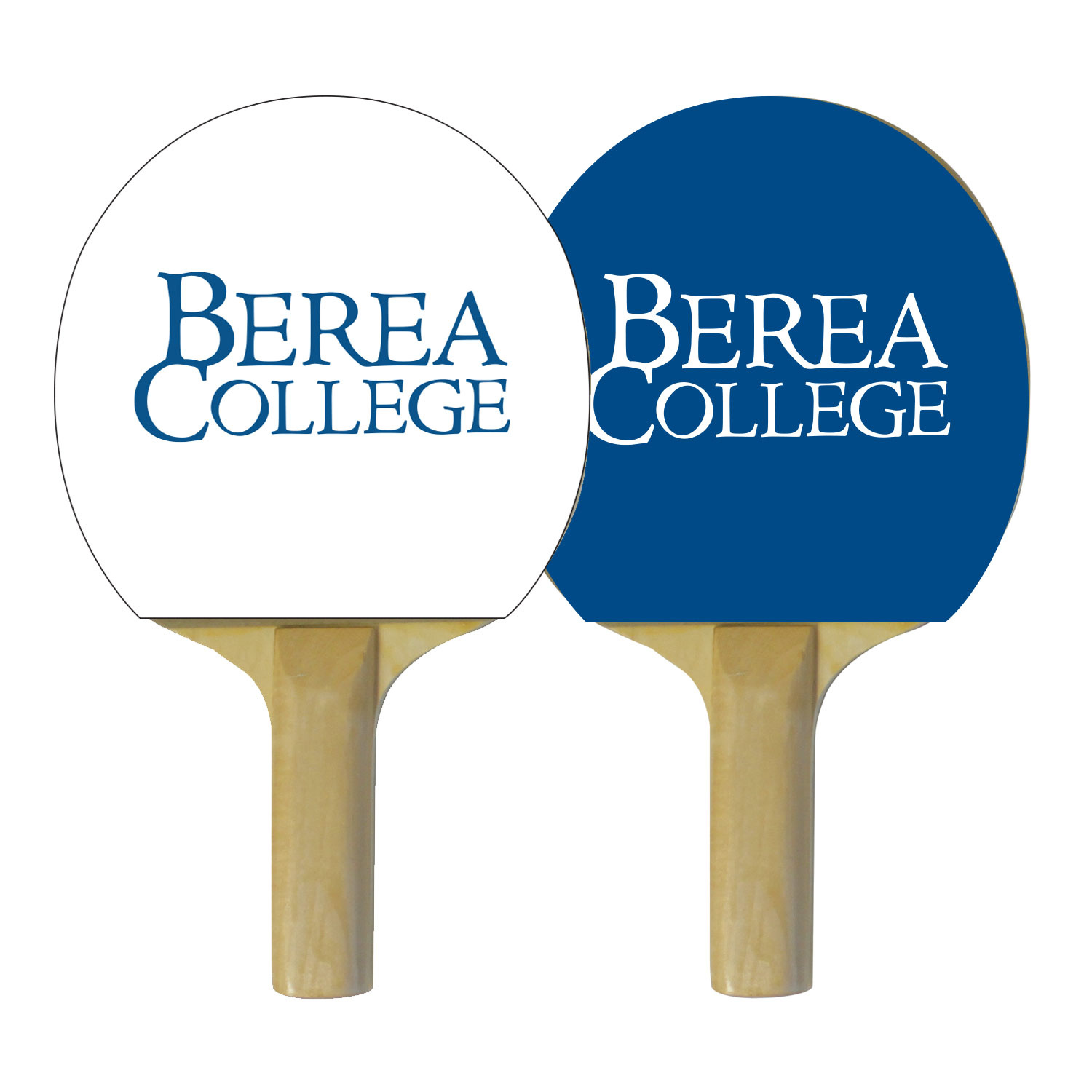 Ping Pong Paddle with Berea College logo*-2