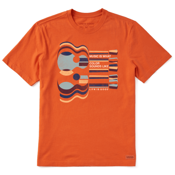 Music Is What Color Sounds Like LIG T-shirt-1