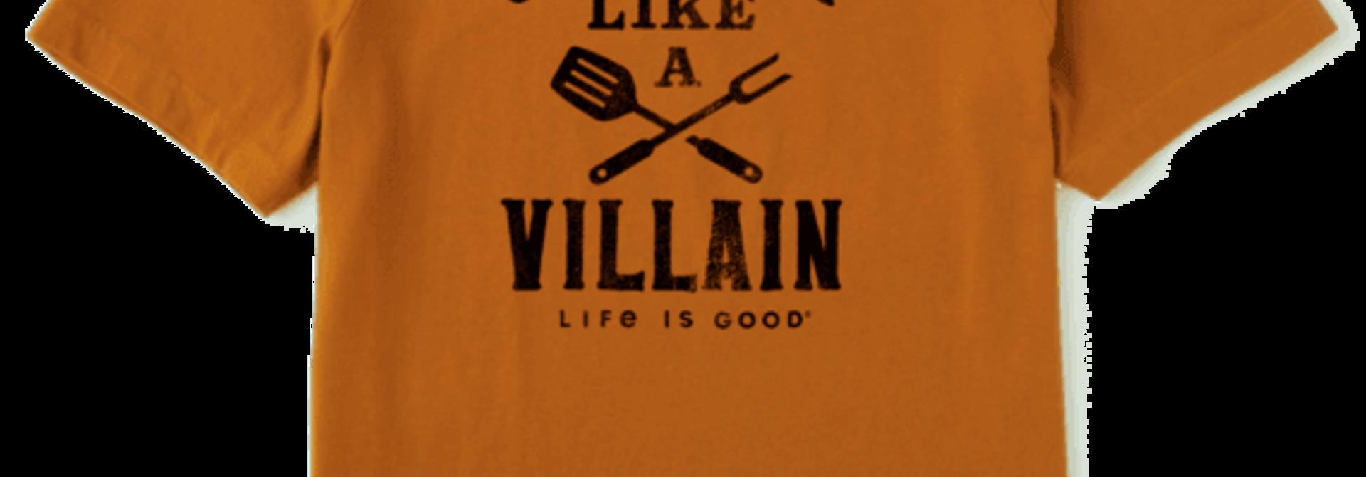 Grillin' Like A Villain T-shirt