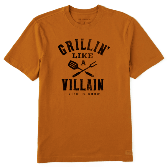 Grillin' Like A Villain T-shirt-1