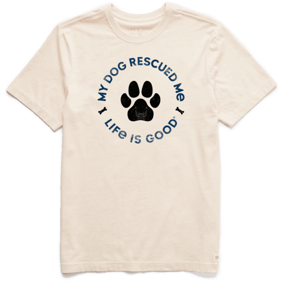 My Dog Rescued Me T-shirt-1