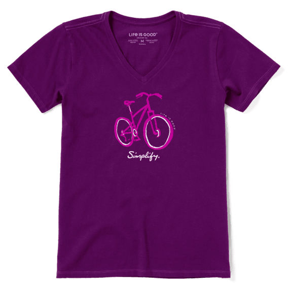 Simple Bike T-shirt-1