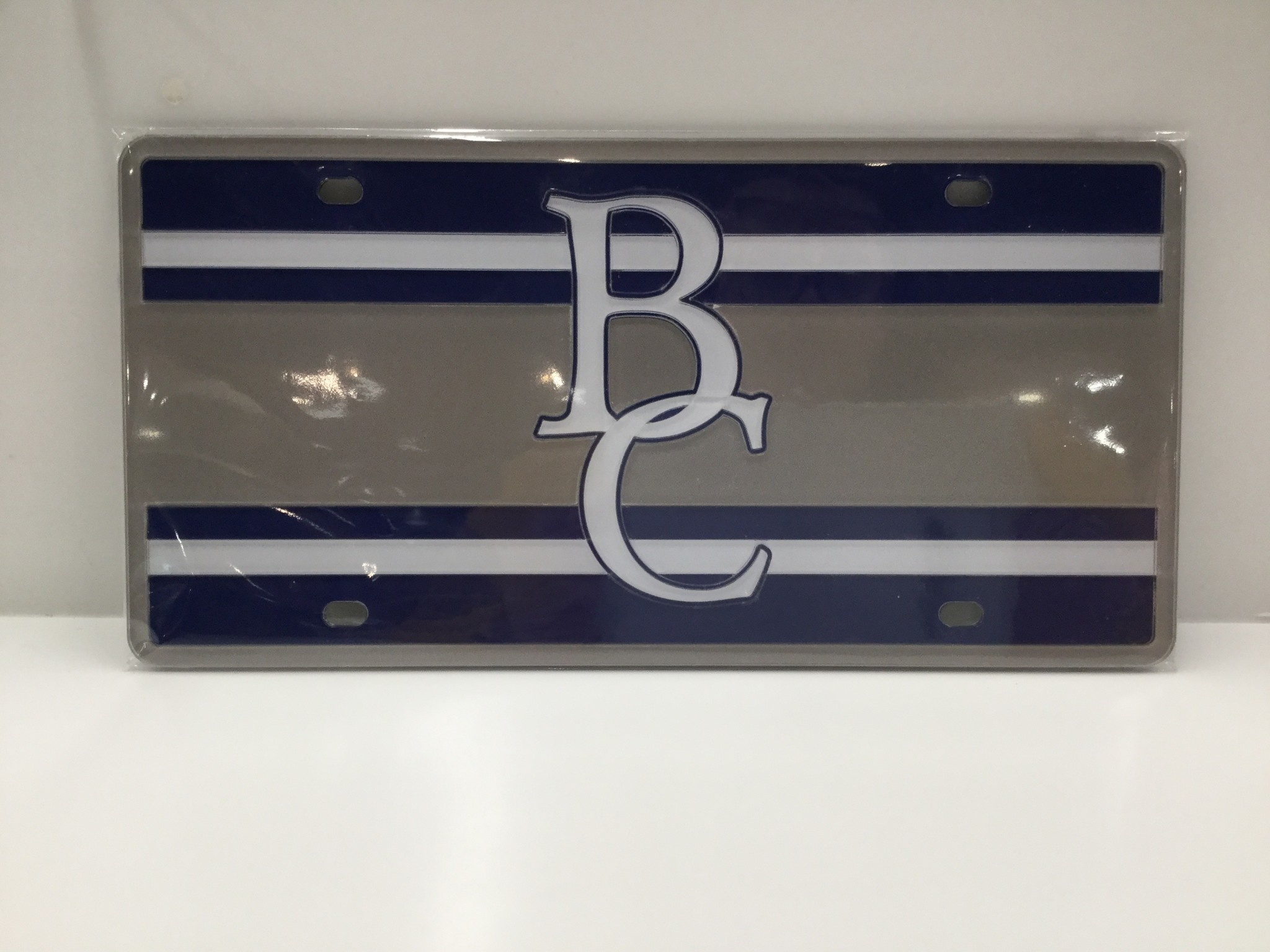 BC Stripped License Plate-4