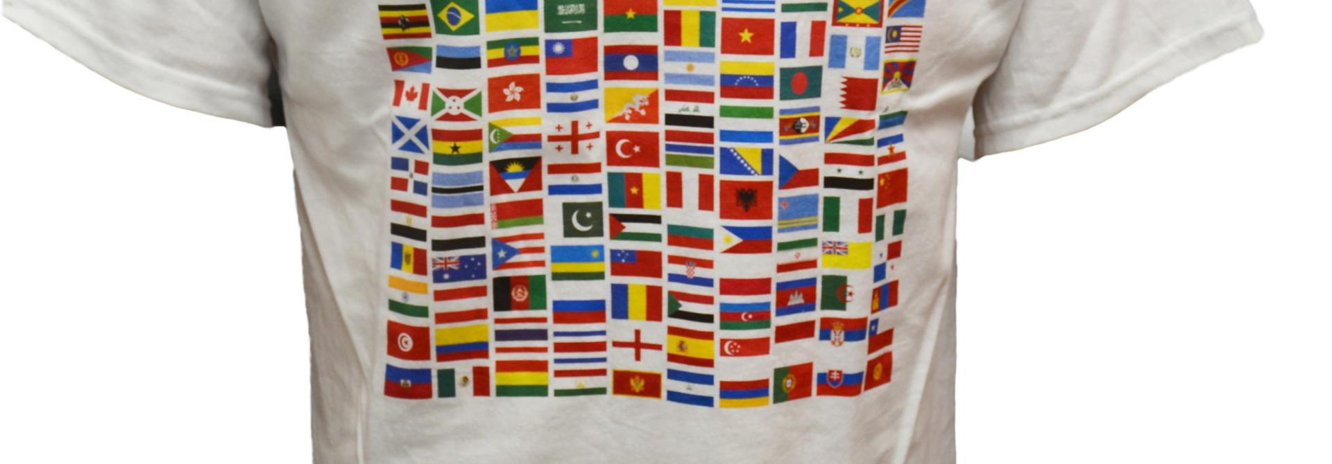 International Flags t-shirt