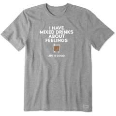 Mixed Drinks Feelings Crusher T-Shirt-6