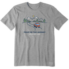 Peace Be The Journey Crusher T-Shirt-7