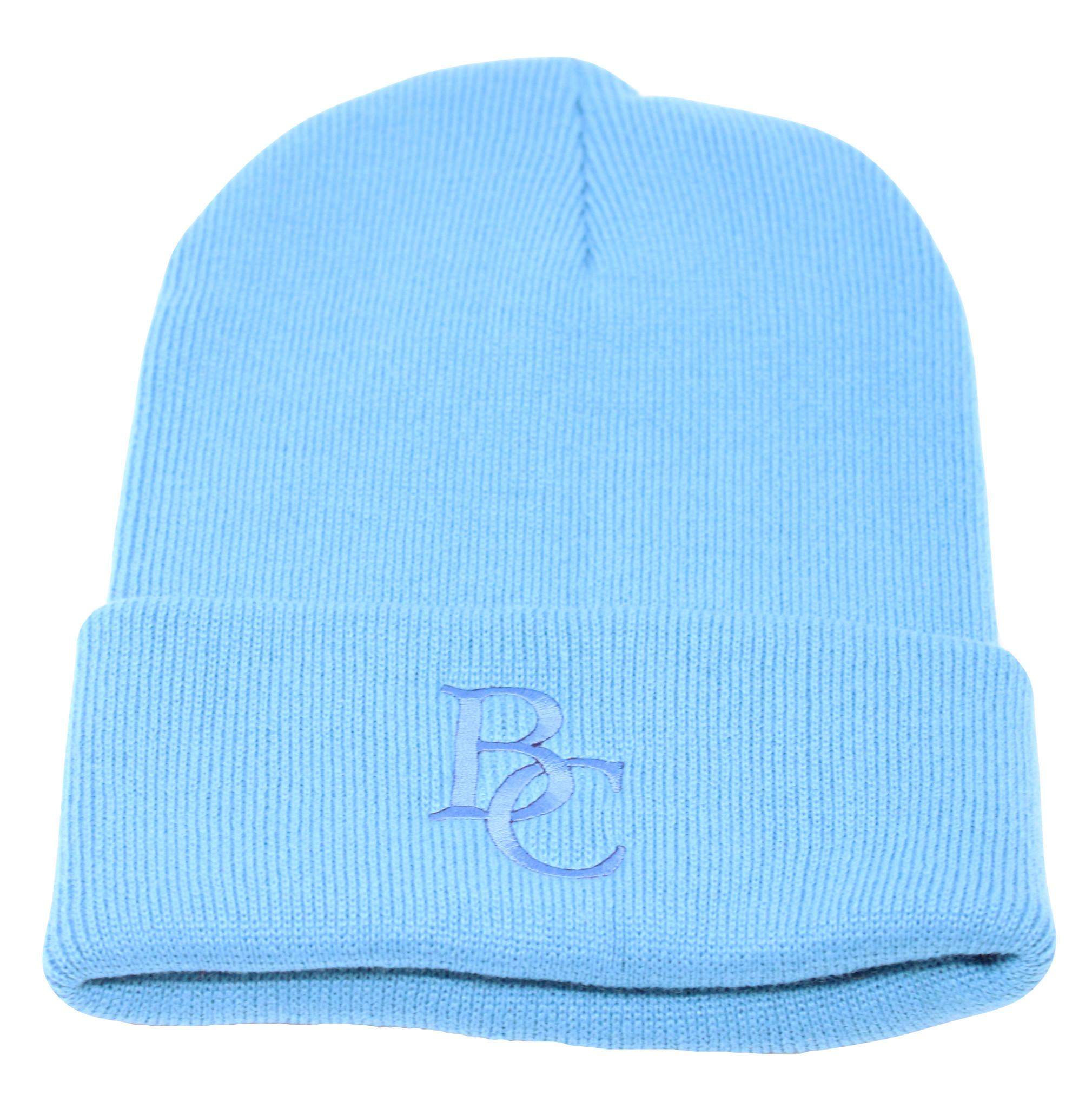BC Neon Blue Beanie-1