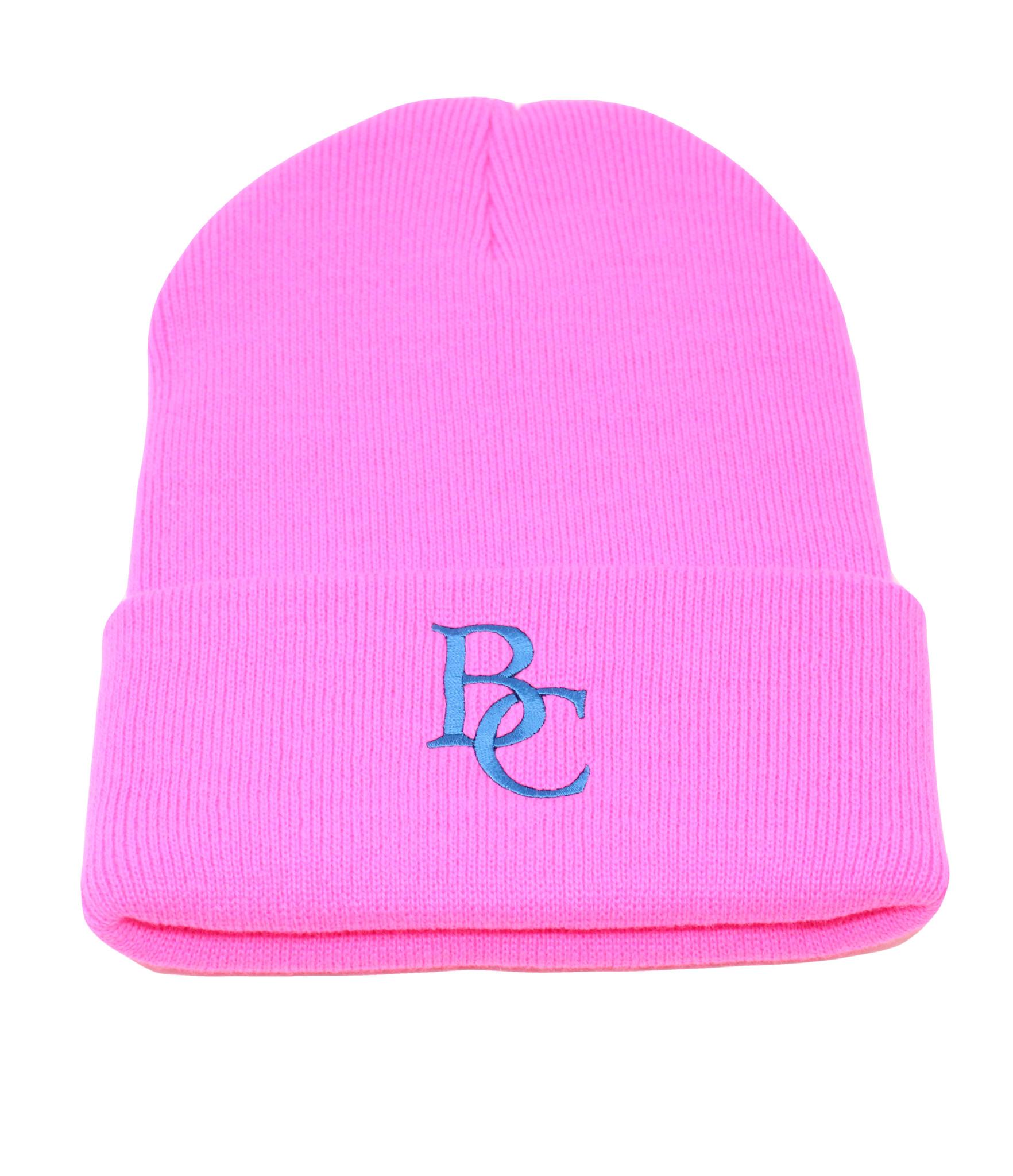 BC Hot Pink Beanie-1