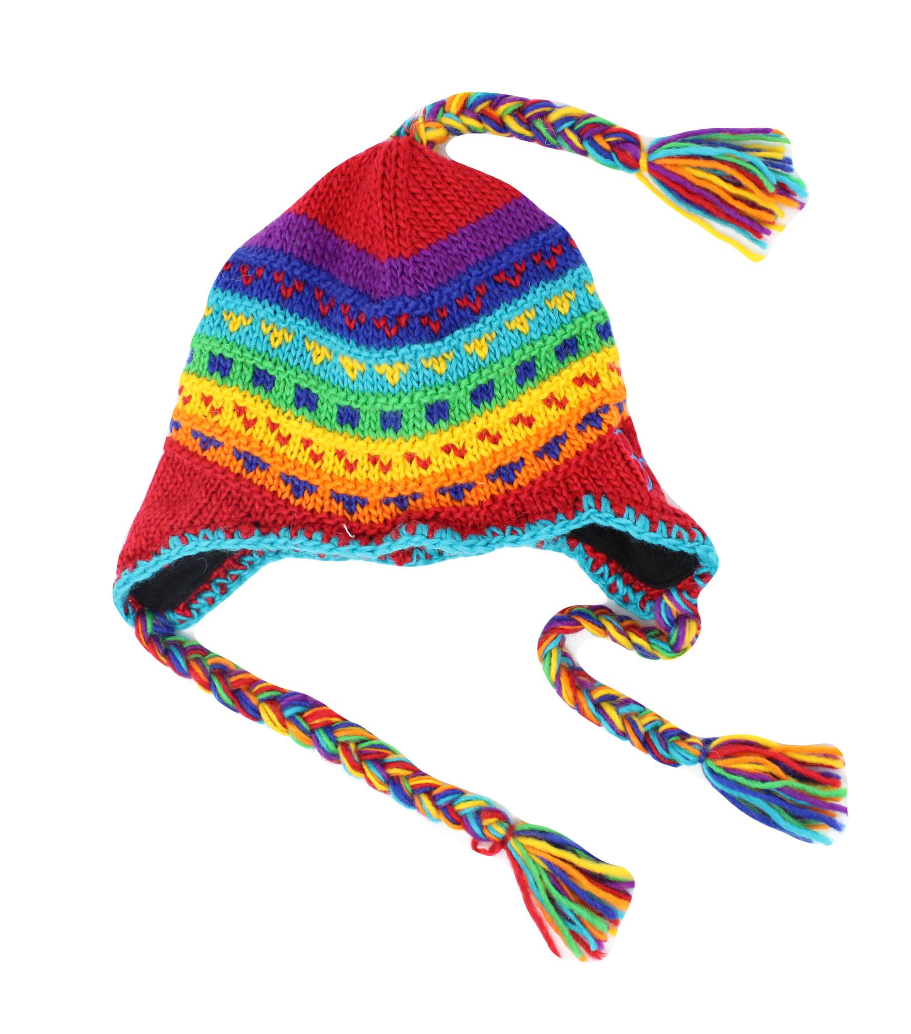BC Multicolered Tassel Hat-2