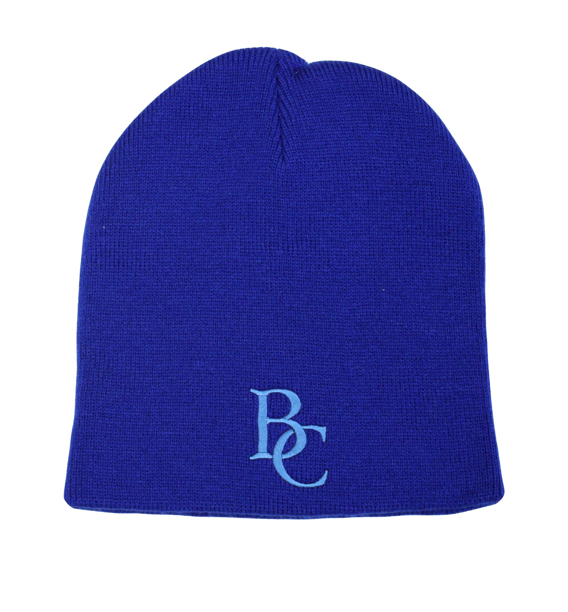 BC Blue Beanie-1