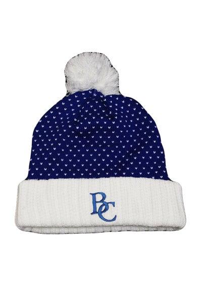 BC Knit Dot Pattern Hat