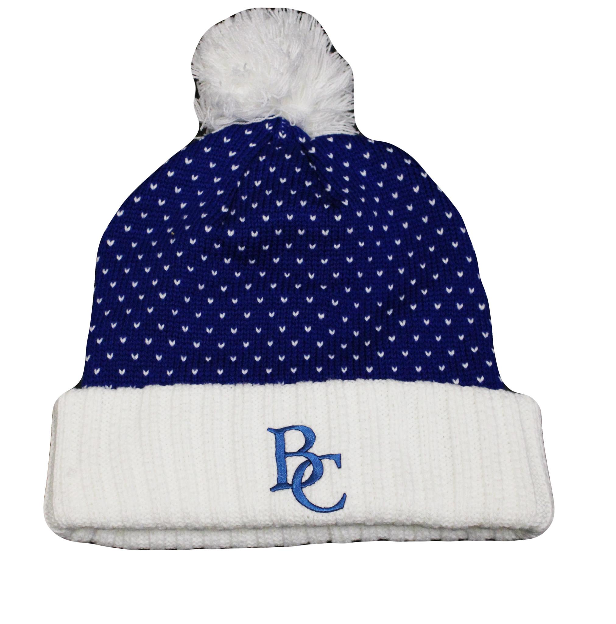 BC Knit Dot Pattern Hat-1