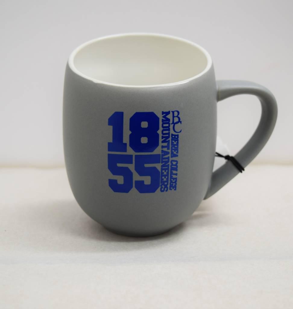 Gray and Blue 1855 Slanted Mug