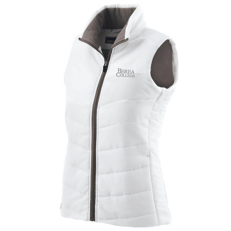 Ouray Sportswear Vest,White,Womens,Interlocking BC