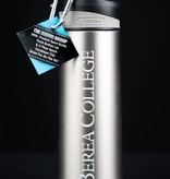 The Fanatic Group Grey Stainless Steel Water Bottle