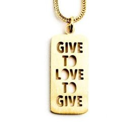 Give To Love To Give