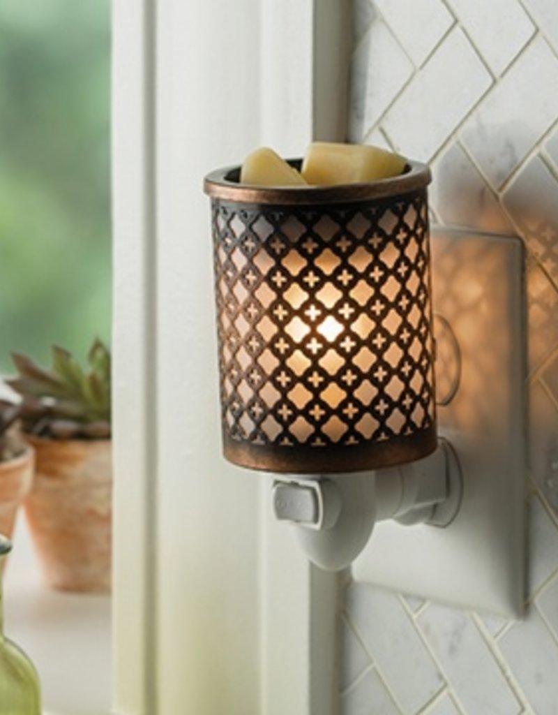 PIMOR Metal Pluggable Fragrance Warmer Morocco