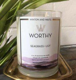 Winton & Waits Candle-
