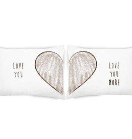 FACEPLANT Love You More Pillowcase Set