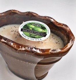 Ruffled Vase-