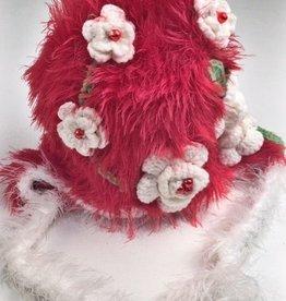 Floral Beanie-