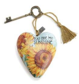 Art Heart W/ Key-