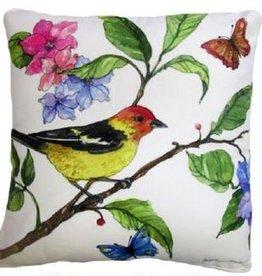 SR601LCS 18x18 Pillow - Flora & Fanua A