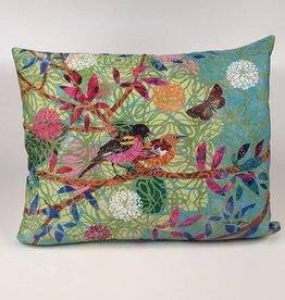 PG11HP Prism Garden (Colorful Bird Pillow) 19x24