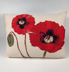 RRPGHP 2 Poppies on a Pillow 19x24