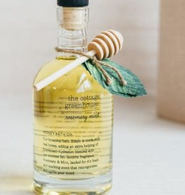The Cottage Greenhouse Rosemary Mint Honeyed Bath Oil