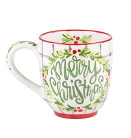 Merry Xmas Holly Mug