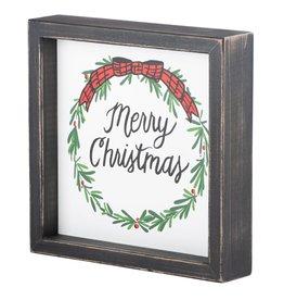 Merry Xmas Framed Board